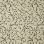 Fontainebleau Fabric Arabesque Reina Lin FONT81799107 or FONT 8179 91 07 By Casadeco